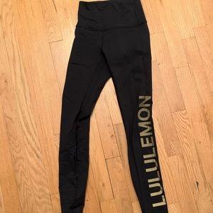 Lululemon x Soul Cycle Leggings